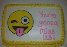 10 hilarious farewell cakes that would turn sad goodbyes happy! Goodbye Cake, Goodbye Party, Goodbye Gifts, Retirement Party Decorations, Retirement Cakes, Retirement Parties, Retirement Ideas, Going Away Cakes, Going Away Gifts