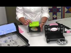 Die Cutting with Fusible Adhesive featuring Linda Nitzen.