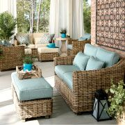 outdoor furniture. I would love to have this on our patio!