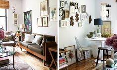Photographer Hallie Burton's interesting interior photographs.