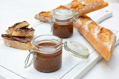 Crema de chocolate con avellanas