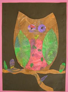 Welcome to Mrs. Peterson's Art Class!: Eric Carle Collages