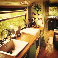 Upcycled Double Decker Bus Hotel - now THERE'S a full-time RV unit!