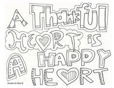 Thankful Heart is a Happy Heart