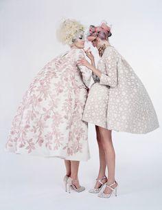 Paille.tumblr.com      labellefabuleuse:    Giambattista Valli Haute Couture, Spring 2013 photographed by Tim Walker for W Magazine, April 2013