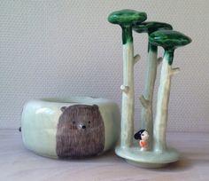 Ceramic work by Nathalie Choux