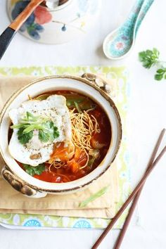 American Chopsuey   Indo Chinese is a very interesting cuisine. It is also one of the tastiest versions of Chinese fusion food. Adapted for the colourful and adventurous Indian palate, Indo Chinese has a lot of chili, a lot of tang and a lot of oomph. One of the most popular dishes on the menu of a restaurant serving Indian Chinese is a dish called American Chopsuey.   From: cookrepublic.com
