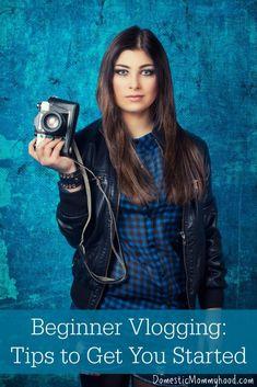 Beginner Vlogging: Tips to get you started. #vlogging is the new #blogging www.refugemarketing.com