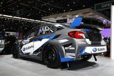 Subaru WRX STI salon de Genève 2017