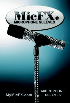 Microphone Sleeves and Stand Sleeves.       Dressing  singers since 2008       MYMicFX.com