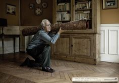 Print advertisement created by Saatchi & Saatchi, France for Association France Alzheimer, within the category: Public Interest, NGO.