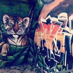 tiger Street Art - Bing Images