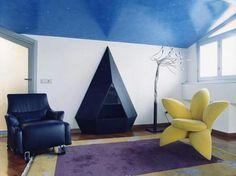 Ristrutturazione e arredo attico - Soppalco - Trescore Balneario (BG) 1999-2000