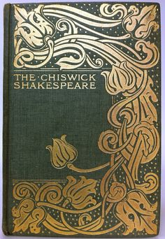 """Cymbeline by William Shakespeare London: George Bell & Sons 1901 """"The Chiswick Shakespeare"""" series"""