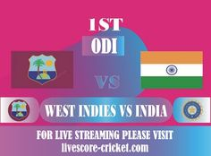 India vs West Indies, 1st ODI, Live Score, Live Streaming, Squads, Playing XI Live Cricket Streaming, Ravindra Jadeja, Shikhar Dhawan, India Tour, West Indies, Scores, Squad, Play, Classroom