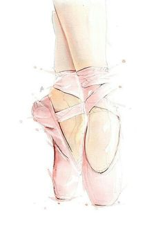 ideas dancing ilustration ballet for 2019 Ballet Drawings, Dancing Drawings, Art Drawings, Ballet Shoes Drawing, Drawing Sketches, Watercolor Print, Watercolor Paintings, Dance Paintings, Watercolor Ideas