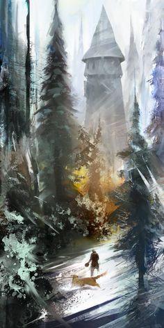 Concept Art Snowy Curses