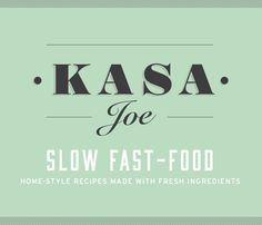 Bessermachen Design Studio the created logotype, identity, and packaging for Kasa Joe. A pasta take-away concept with 4 different homemade recipes.
