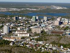 Diamond Capital of North America, Yellowknife  An isolated but beautiful and very cultured city.
