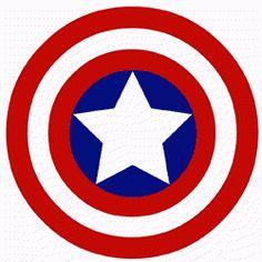 Captain America logo the superhero Marvel Superhero Logos, Superhero Symbols, Captain America Symbol, Logo Super Heros, Iron Man Birthday, Superhero Coloring, Banner Background Images, Boys Wallpaper, Stencil Templates