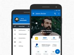 LinkedIn - A great app with awesome functionality yet so much inconsistency between platforms.  Thought I would have a play around and introduce some native elements to their android app by introdu...