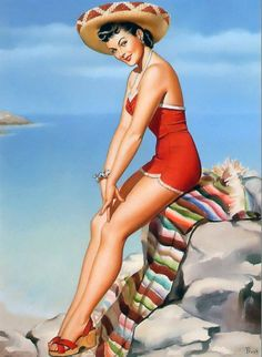 mexican pin up