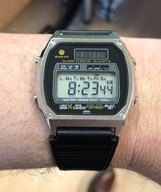 Sanyo Alarm-Chrono Quartz from 1984