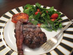 """""""The last time I ate ostrich, which was many years ago, I had a steak that I found very dry and quite tough. Either we cooked it too long or too hard. This time I decided to go for ground o… Best Paleo Recipes, Healthy Grilling Recipes, Grilled Steak Recipes, Meat Recipes, Low Carb Recipes, Favorite Recipes, Game Recipes, Ostrich Meat, Chopped Steak"""
