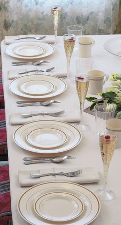 1000 Pieces Plastic China Plate Silverware Combo for 200 people ...