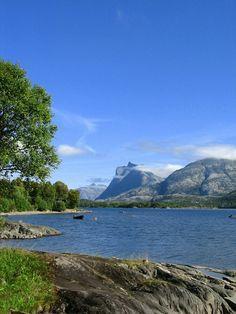 A lake (Vattnvattne) outside Bodø, Norway.