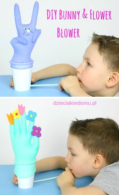 DIY bunny and flower blower for kids and parenting Oral Motor Activities, Toddler Learning Activities, Sensory Activities, Infant Activities, Toddler Games, Speech Activities, Montessori Toddler, Montessori Toys, Sensory Bins