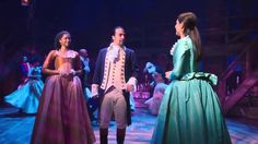 Scenes from HAMILTON. I really want to see this!!