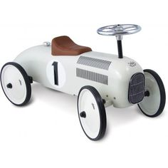 Vilac valkoinen kilpa-auto - Ombrellino