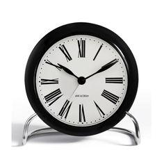 Roman Alarm Clock by Arne Jacobsen