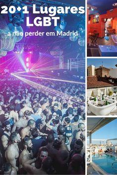 Descobre os melhores lugares LGBTi em Madrid onde ir durante o dia e à noite!
