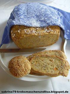 Experimente aus meiner Küche: Möhrenbrot #breadbakingfriday
