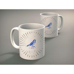 Bernie Sanders Coffee Mug Birdie 2016 Mug Funny Mug Cute Mugs Unique... ($15) ❤ liked on Polyvore featuring home, kitchen & dining, drinkware, drink & barware, home & living, mugs, silver, coffee tea mugs, bird mug and coffee mugs