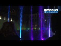 Reggia della Venaria, the fountain show. La fontana del Cervo interpreta i Deep Purple
