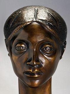 Elizabeth Catlett (American b. 1915) Glory  Cast bronze, 1981 Drs. Osbie and Anita Herald Fund purchase, 2000.1
