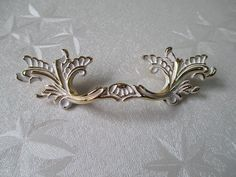 "3"" 76 mm shabby chic dressoir lade trekt handvaten witte goud/Franse landelijke keuken kabinet handvat te trekken antieke meubelen(China (Mainland))"