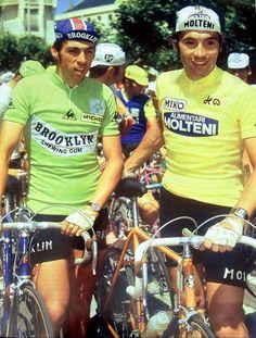 Eddy Merckx & Patrick Sercu