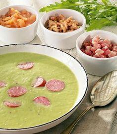 Leichte Erbsen-Kartoffel-Suppe