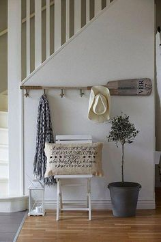 Nautical decor high end. Nautical and coastal interior decor with inspiration; Sailboats, lighthouses, anchors, and more to develop a seaside mood. Decor, Lakehouse Decor, Coastal Decor, House, Beach House Decor, Cottage Decor, House Styles, Home Decor, Oar Decor