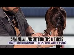 WATCH: Texturizing and Adding Movement to Dense Hair Using a Razor - Behindthechair.com