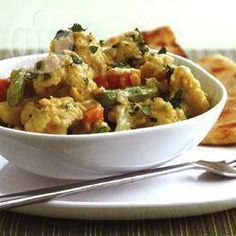 Cauliflower and lentil curry @ allrecipes.co.uk yummo I think needs more curry, SG.
