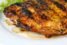 The Café Sucré Farine: Brown Sugar Grilled Chicken Breasts