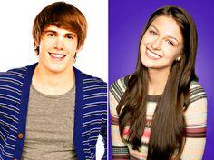 Glee Costars Blake Jenner And Melissa Benoist Are Engaged! Melissa Blake, Blake Jenner, Fandom Quotes, Great Smiles, Katie Mcgrath, Marley Rose, Glee Cast, Melissa Benoist, White Teeth