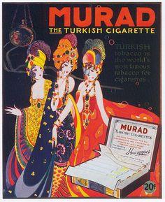 Murad Cigarettes, 1919