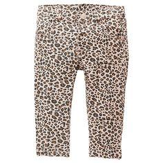 Girls' Stretch Jeans - Animal Print