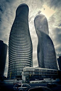 Absolute Towers residential buildings - Toronto, Canada